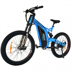 HITHOT H7 750W Electric Mountain Bike DNM Suspension Spring Shock